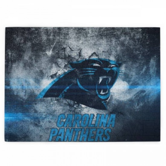 1 Pack of 520 Piece Carolina Panthers Picture puzzle #168755, for Adults, Families