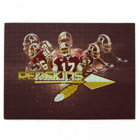 Great Gift Washington Redskins (Football Team) Picture puzzle #168354 for stimulating Interest in sport